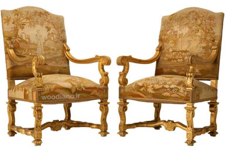 انواع صندلی فرانسوی