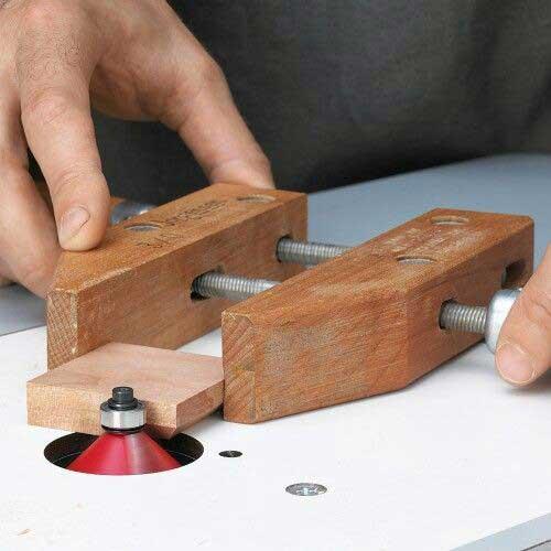 ساخت شابلون برای فرز زدن قطعات کوچک