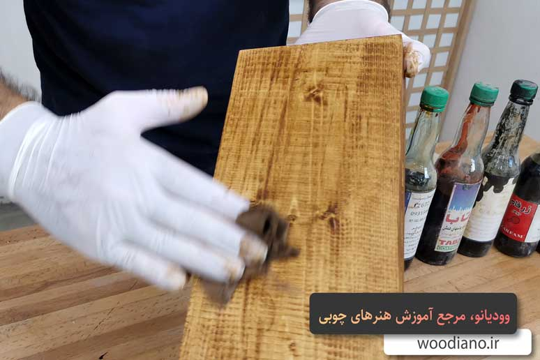 آموزش شاپان چوب