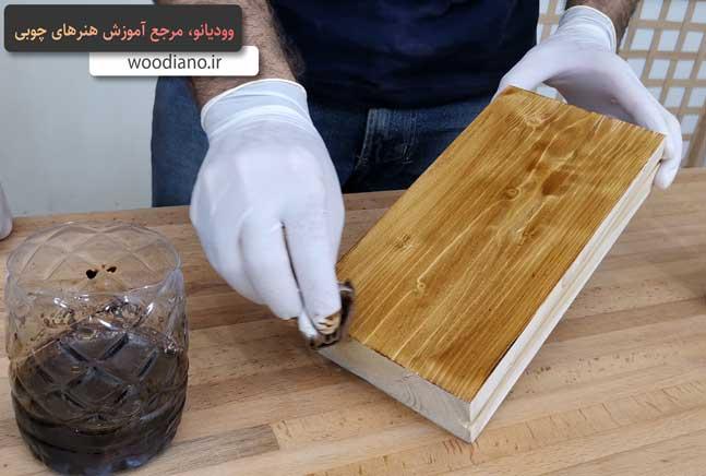 نحوه اجرای شاپان چوب