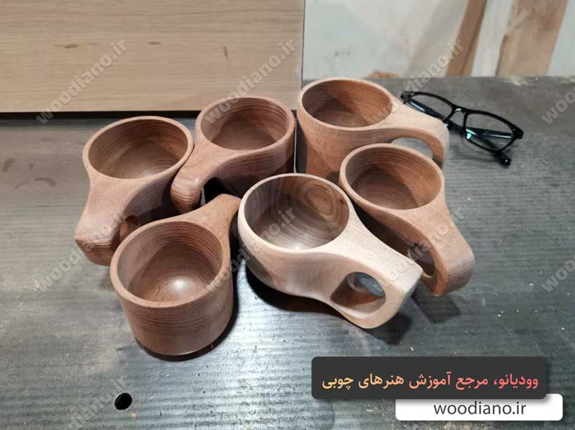 مدل های لیوان چوبی
