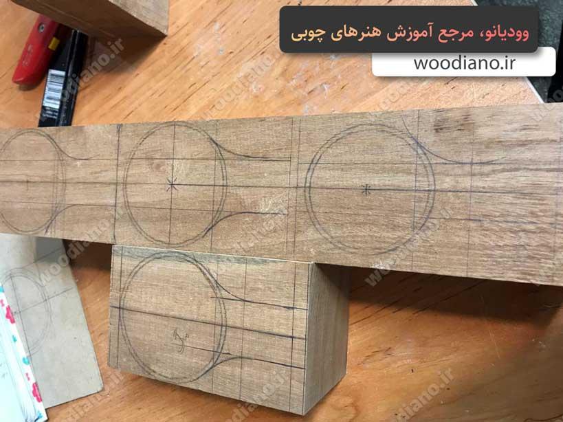نحوه ساخت کوکسا و لیوان چوبی