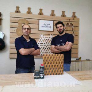 آموزش ساخت تخته گوشت چوبی، با وودیانو بساز