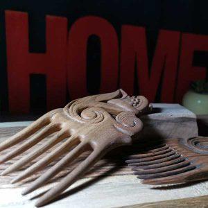 ساخت شانه چوبی