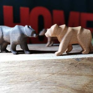ساخت خرس چوبی