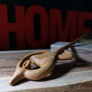 ساخت غزال چوبی سیخ مو