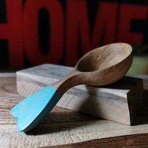 ساخت قاشق چوبی چای خوری