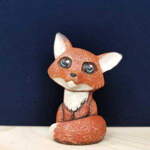 روباه چوبی نارنجی