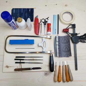 ابزارهای کار با چوب در خانه
