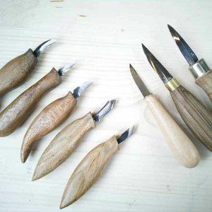 انواع مغار چاقویی برای حجم تراشی و پیکر تراشی